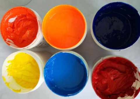 silicone pigment for silicone ink