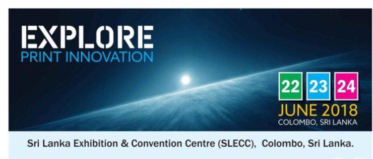xgslicone attend explore print innovation exhibition in sri lanka