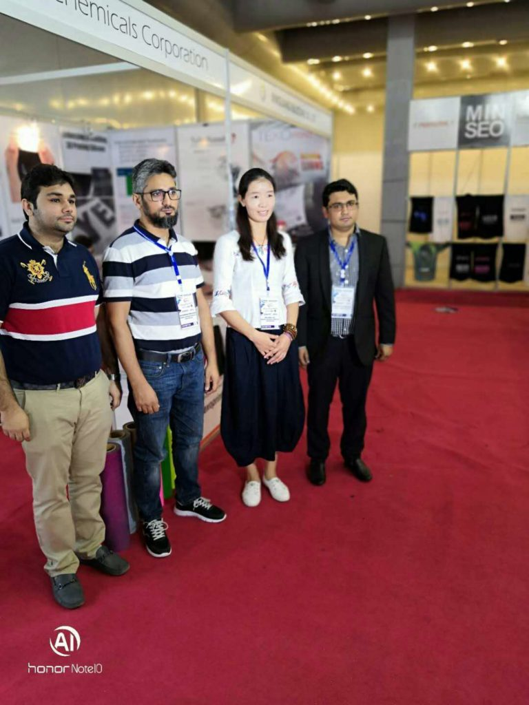 Textile Asia 2018 in Lahore Expo Center Pakistan – XG Silicone Ink