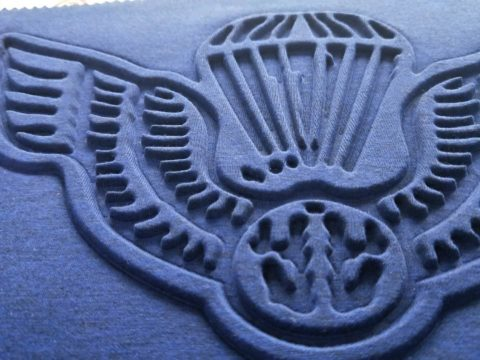 Silicone Ink Embossing