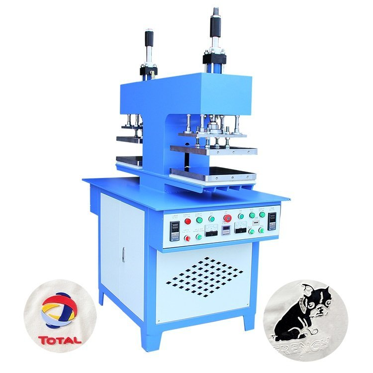 Embossing machine for XG embossing silicone ink