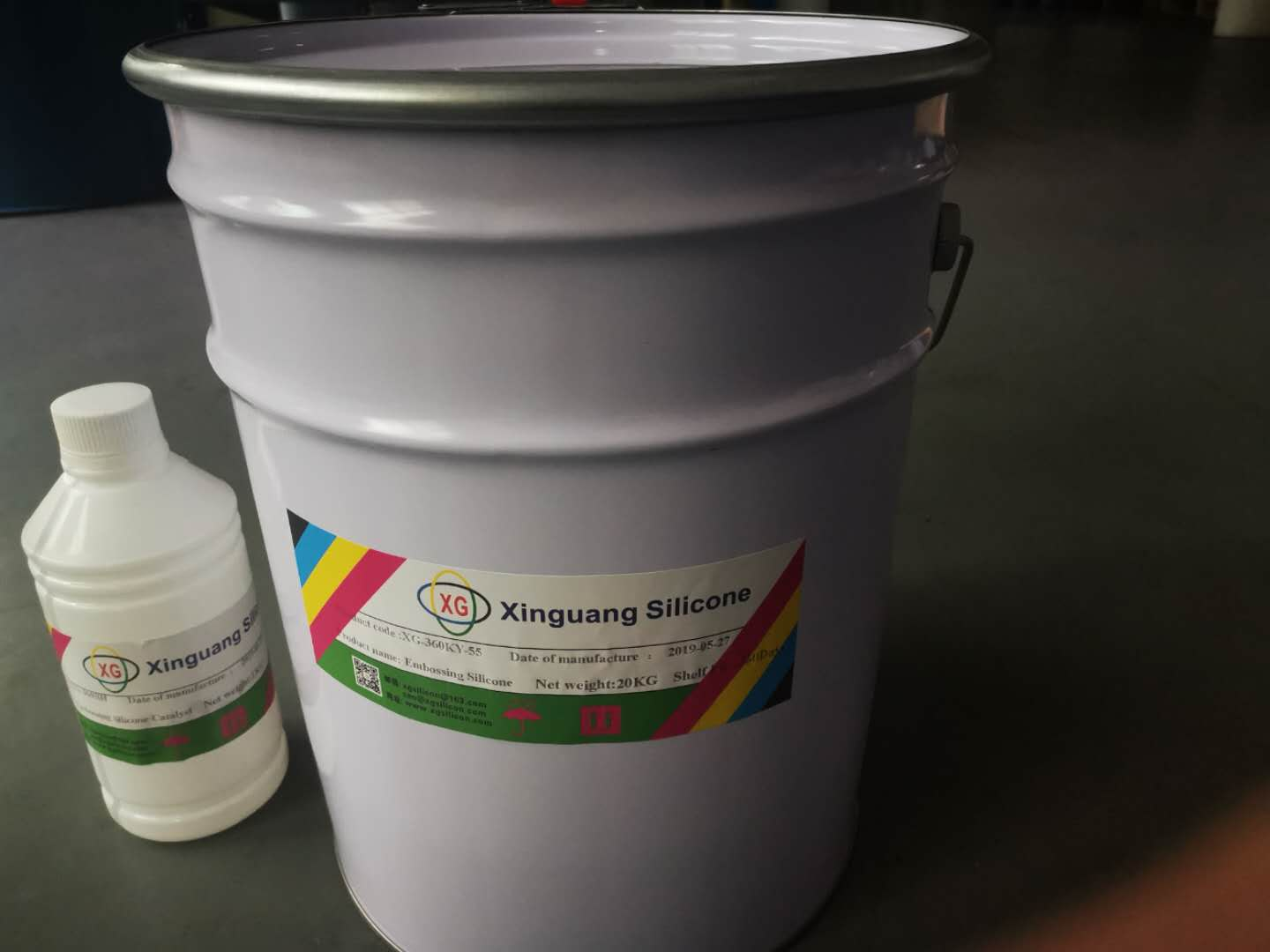 Embossing silicone XG-360KY-55