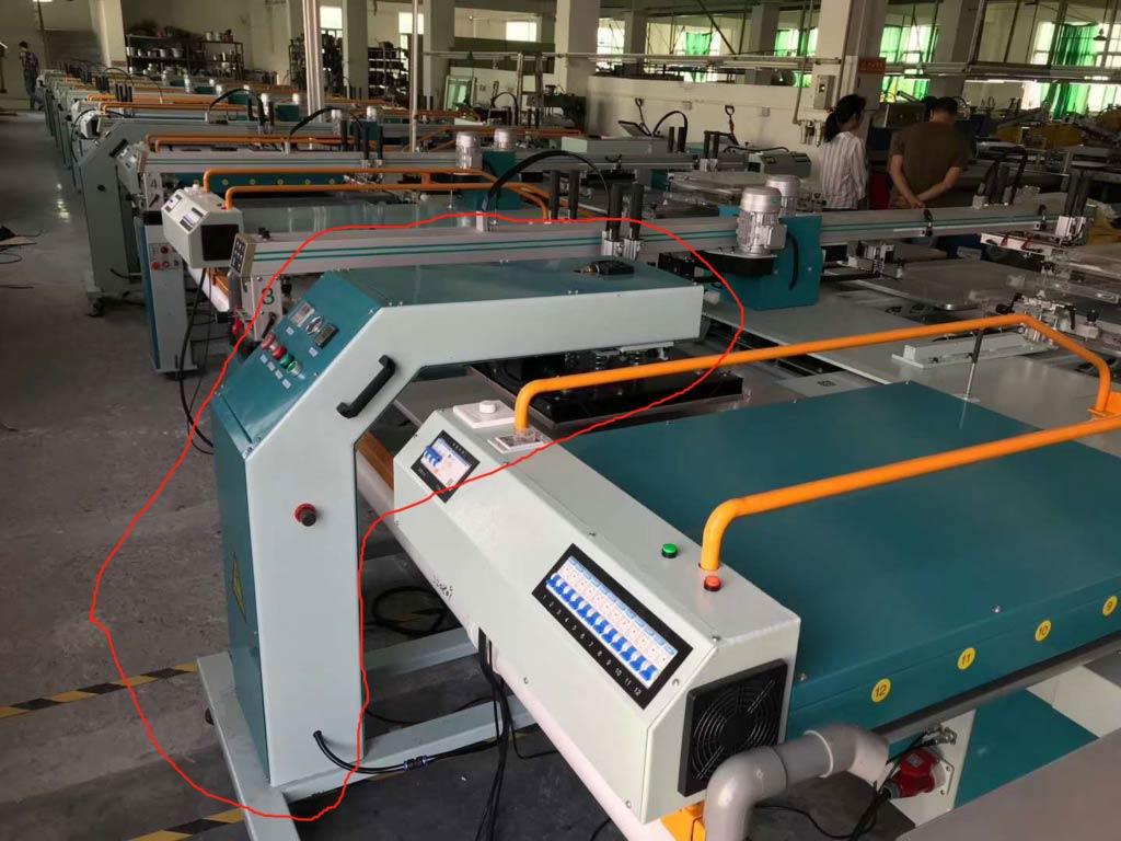 Oval-printing-machine-heat-press-machine-for-XG-silicone-ink