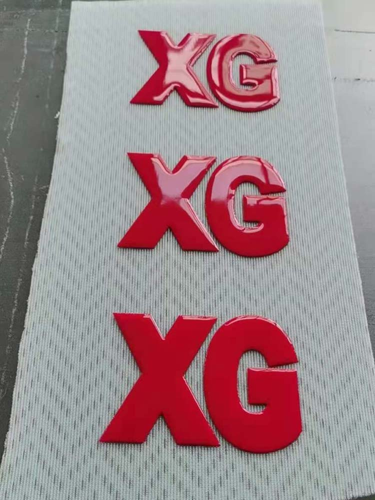 XG Silicone Ink Printing on Fabric Effect